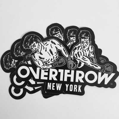 OVERTHROW-STICKER